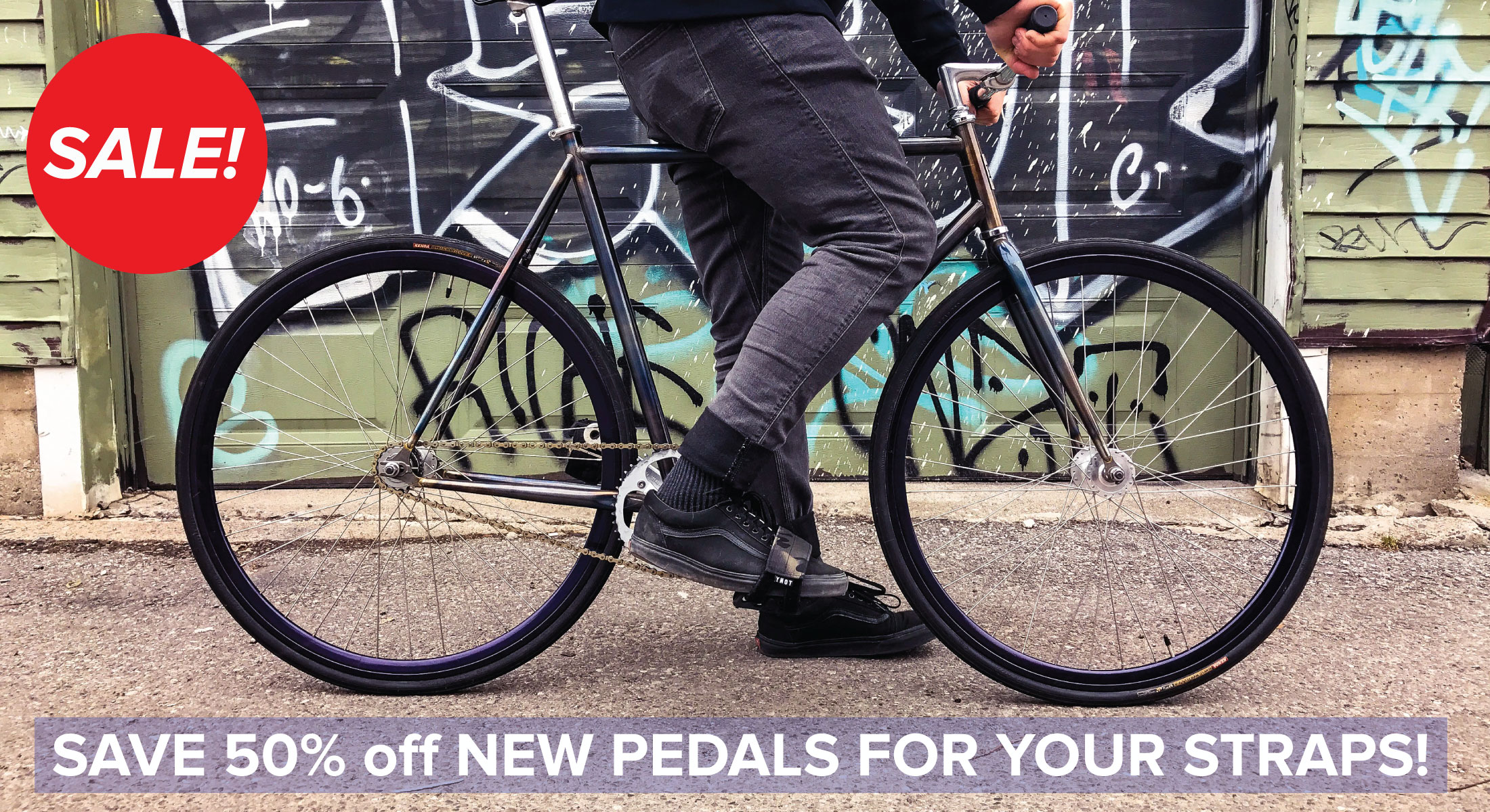 Pedals now on sale!
