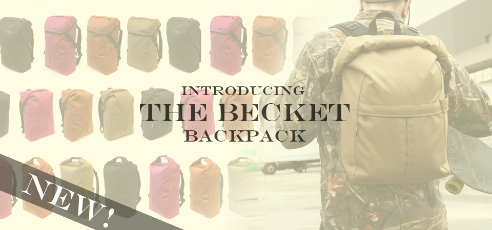 Introducing The Becket, the newest backpack from YNOT Cycle!