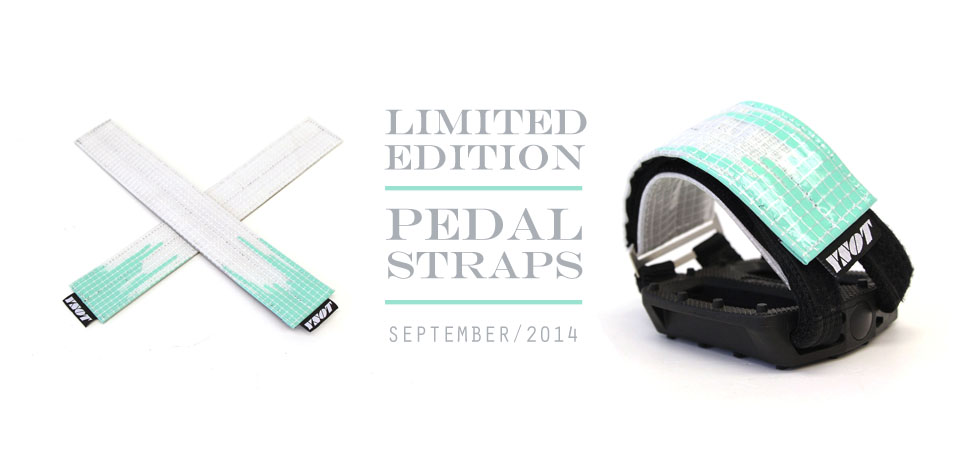 September Limited Edition Pedal Strap